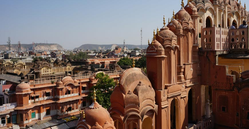 jaipur city red-capital-Rajasthan-1
