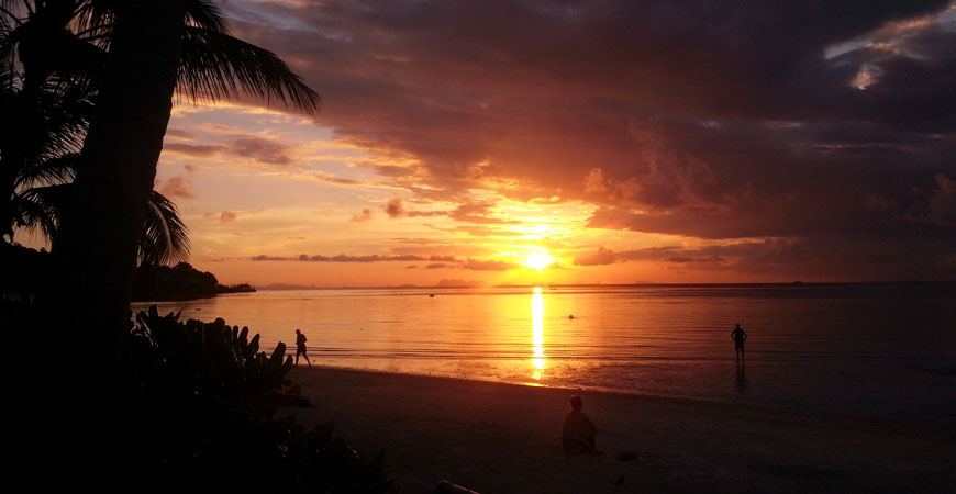 koh-phangan-plage-sunset-