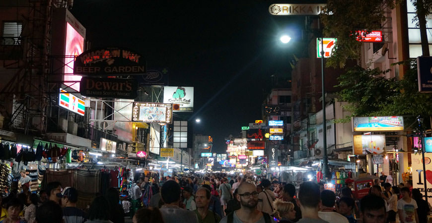 bangkok-khaosan-road-night