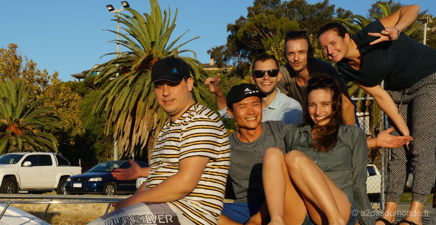 perth-freemantle-bateau-amis-australie