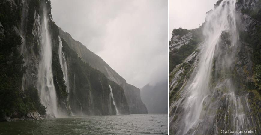 roadtrip-nouvelle-zelande-ile-sud-milford-sound-cascade