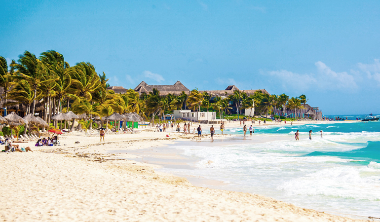 playa-del-carmen-mexique