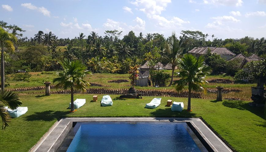 Un hôtel de rêve à Ubud, entre rizières et relaxation