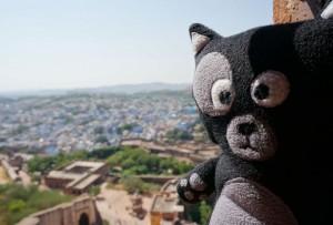 (03) Selfie de Kiwi en haut du fort de Jodhpur