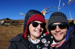 (08) Petite photo de famille au top du Pikey Peak :)