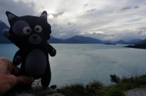 (31) Sur la route de Glenorchy, Kiwi prend l'air !
